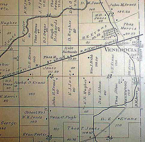 Venedocia Old Maps Index Page